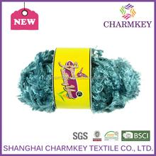 hot sale 100% spun auto coro yarn yarn manufacturer in china No stretch nylon/wool fancy yarn