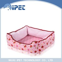 Fasionable comfortable eco-friendly pet sleeping bed for small animals