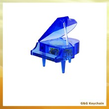Crystal Grand Mini Piano Shaped Music Box for Wholesale MB 016