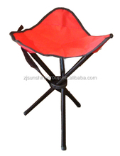 New style low price steel tube oxford folding chairs