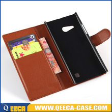 Mobile phone cover leather flip case cover for nokia lumia 730