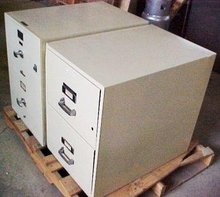 Fire Resistant Stone & Steel Cabinets
