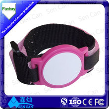 Nylon wristband rfid products