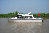 9.6m glass fiber reinforced plastic fishing boat for sale
