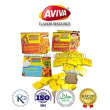 Super Seasoning Halal Chicken cubes Seasoning Stock cube For Cooking[AVIVA CUBE]