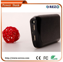 Carton Picture Cookie Size Power Bank With Back Clip For Christmas Present
