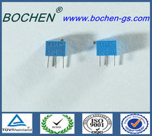 RoHS 3262W 1M ohm, 0.25w, 4mm multiturn trimming potentiometer precision potentiometer remote control potentiometer