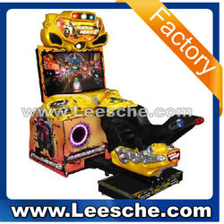 LSRM-014 car racing game machine( arcade game machine motorcycle electronic game machine LE0331