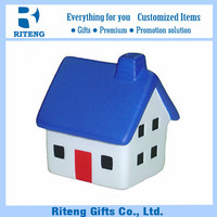 PU Material House Stress Balls For Promotion