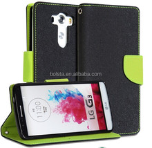 stock for PU Leather Flip Stand for LG G3 case