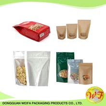 Custom Stand Up Pouches Plastic Bag For Packing Dried Food