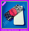 JESOY Phone Accessories Sublimation Mobile 3D Phone Covers For iphone 5 Hard Cover