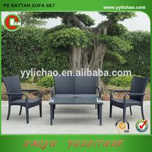 jardín al aire libre sofá conjunto de muebles al aire libre