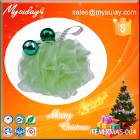 2015 Event & Party Supplies christmas novelty products bath and shower sponge XMAS-004
