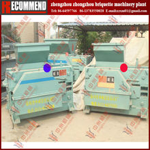 Four roller briquette machine for manganese