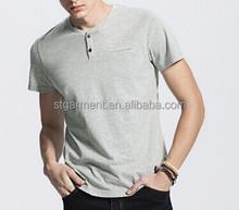 Basic Henly T-shirt, Mens Henly short Tee