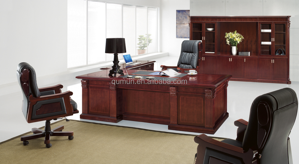 Classique Européen de mobilier de bureau bureau bureau, fait en ...