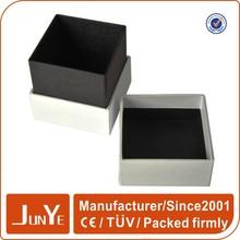 Cube birthday gift box with foam insert