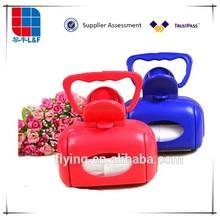 many colors easy carried plastic poop scoop hot selling