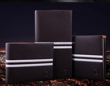 Fashion Wholesale Cheap Bifold 3 in 1 Set Men's Leather Wallet Purse Credit Card Holder