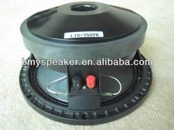 10'' mid bass speaker L10/750YK