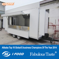 2015 HOT SALES BEST QUALITY mobile restaurant caravan mobile kitchen food caravan concession food caravan