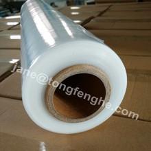 Hot blue film stretch hand pallet shrink wrap