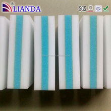 Quick Cleaning melamine tooth clean sponge, car sponge with handle, car sponge with handle Kitchen Cleaning Sponge