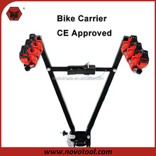 Hot Sales In Chile 72*43*23cm 3 Bikes Carrier Loading Double Safety Lock Rack Bike
