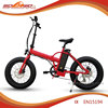 "Al alloy Front fork 20"" mini fat tire folding/foldable electric pocket bike"