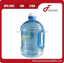 BPA free plastic PET Water Jug
