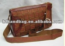 Young lady design fashion bag