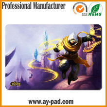AY Durable LEAGUE of LEGENDS Rubber Mouse Pad Roll Materia Printable Mouse Pad Mat Card Playmat, Trade Assurance Playmats