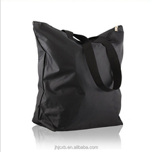 Top quality hand gift bag with zipper nylon tote bag recycle shopping bag