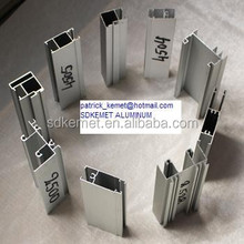 mill finish extruded aluminum profiles for foreign markets