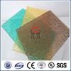 lexan diamond embossed solid polycarbonate sheet for door