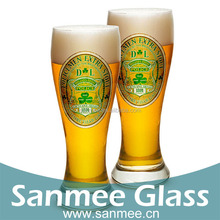 Pilsner Available Decal Beer Glass Cup Promotion
