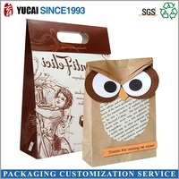 New Design Kraft Paper Bag with Special Style