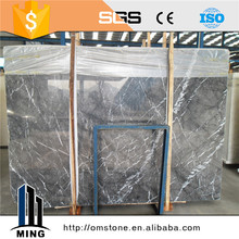Hot sale grey marble tile slab price