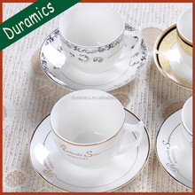 Chinese supplies ceramic tea cup set, turkish tea set