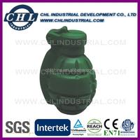 Promotional anti PU stress hand grenade
