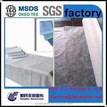 Wholesale Spunlace non-woven fabric disposable bed sheet set