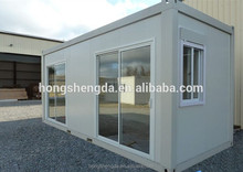 China prefab 20feet container house used for bedroom / office / dorm supplier!