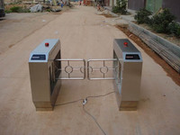 Manual Turnstile Mechanism with Counter Function