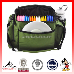 Hot Sell Outdoor Disc Bag Disc Golf Bag with Straps for 15-20 Discs Plus Accessories (ESX-LB162)