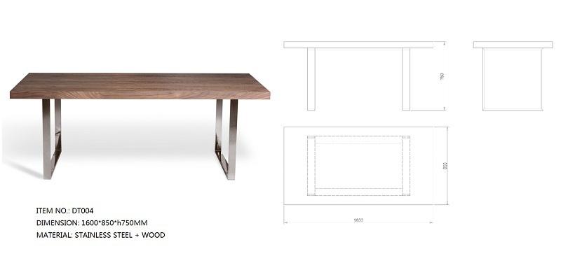 Fabbrica di dongguan ghisa gambe del tavolo in metallo a for Mobili di design a buon mercato