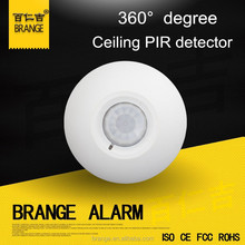 Wired PIR detector 360 degree 12VDC For alarm system Export to Finland