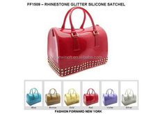 Top level hot sale knit lady hand bag