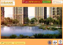 (BK0103-0006) Garden Design of Residential Area/Landscape Design for Luxury Residential /3D Rendering