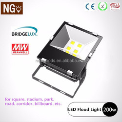 led high mast light Bridgelux chip and Meanwell driver CE RoHS approved